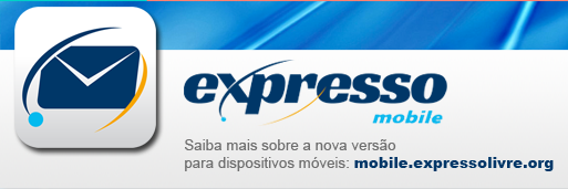 Versão do Expresso Livre para dispositivos móveis