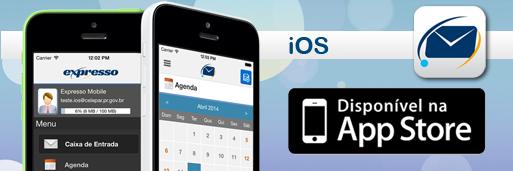 Aplicativo Expresso Mobile para iOS